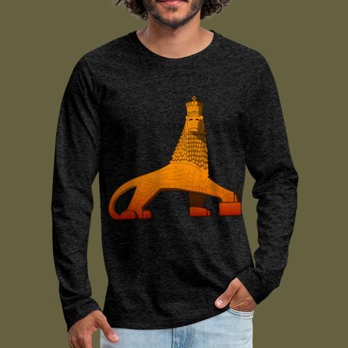 Lion of Judah Masonry - Men's Premium Long Sleeve T-Shirt