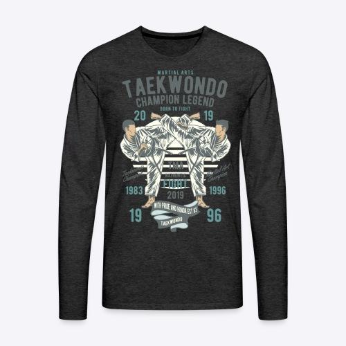 Taekwondo champion - Men's Premium Long Sleeve T-Shirt