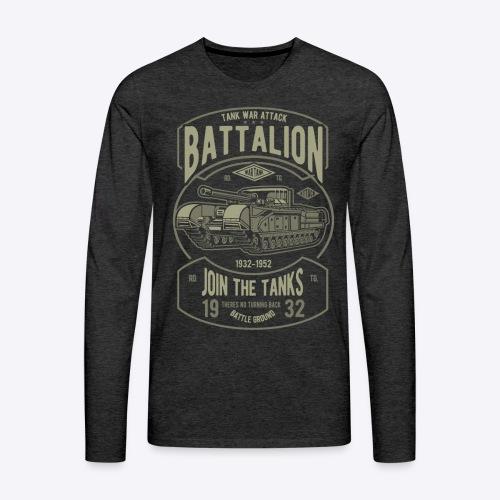 Battalion - Men's Premium Long Sleeve T-Shirt