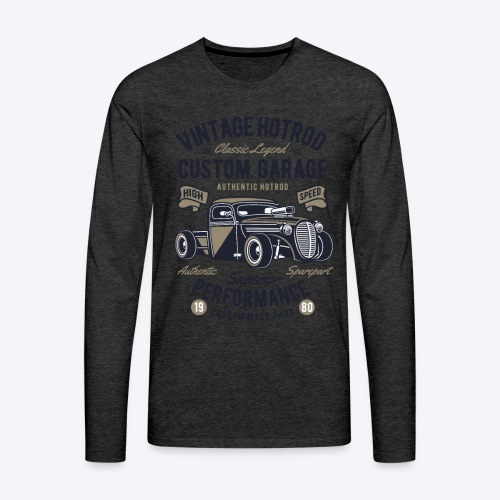 Vintage Hotrod - Men's Premium Long Sleeve T-Shirt