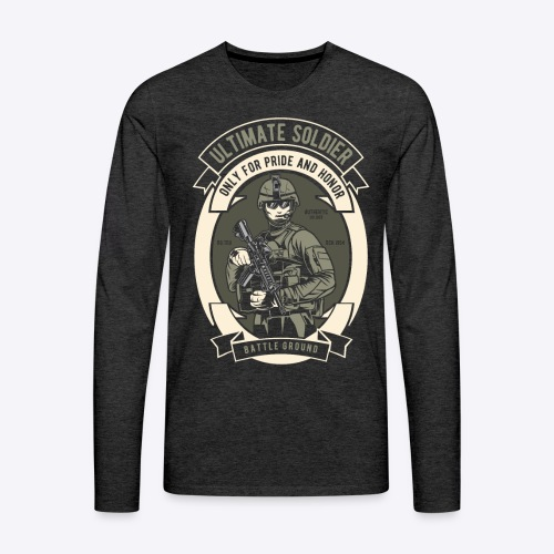 The ultimate soldier - Men's Premium Long Sleeve T-Shirt