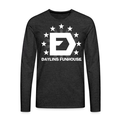 DF Classic Logo - Men's Premium Long Sleeve T-Shirt