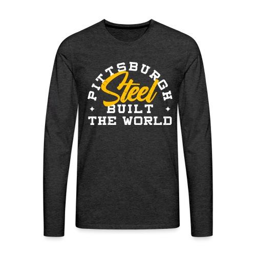 built - Men's Premium Long Sleeve T-Shirt