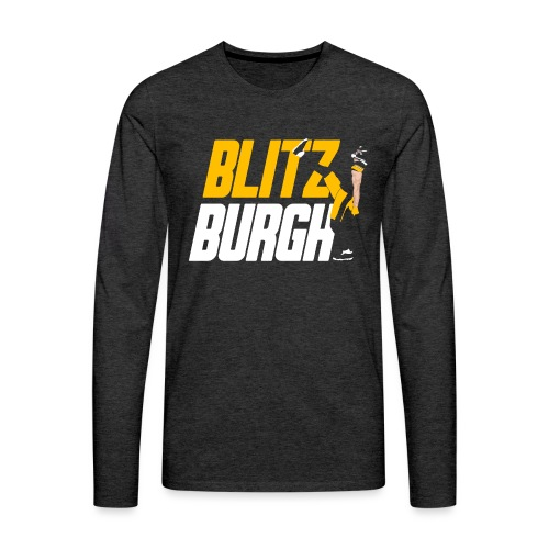 Blitzburgh 90 - Men's Premium Long Sleeve T-Shirt