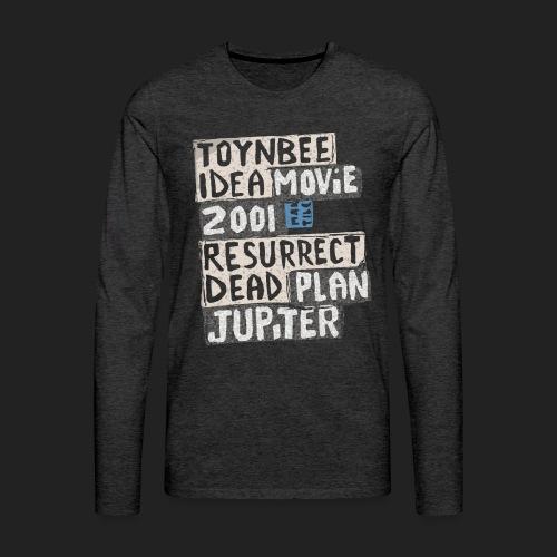 Toynbee Idea Tile Philly - Men's Premium Long Sleeve T-Shirt