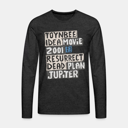 Toynbee Idea Tile Philly - Men's Premium Long Sleeve T-Shirt