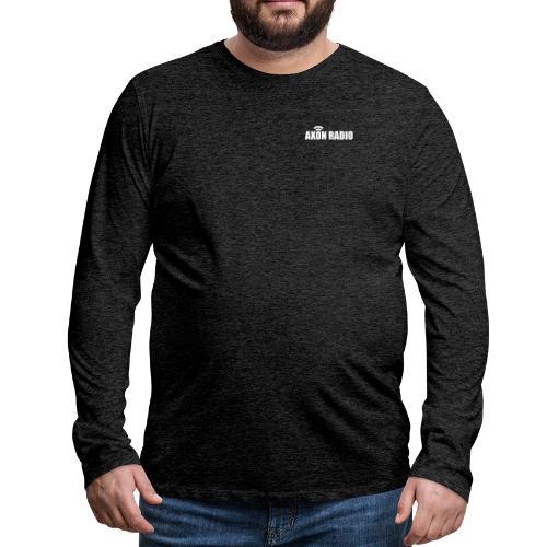 Axon Radio | White night apparel. - Men's Premium Long Sleeve T-Shirt