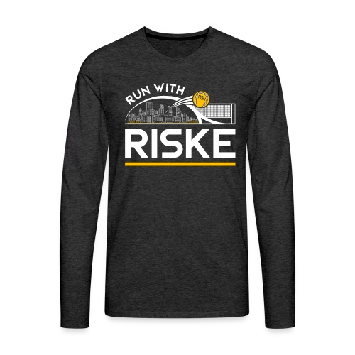 Run With Riske - Men's Premium Long Sleeve T-Shirt