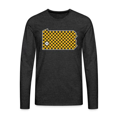 Pittsburgh Soccer - Men's Premium Long Sleeve T-Shirt