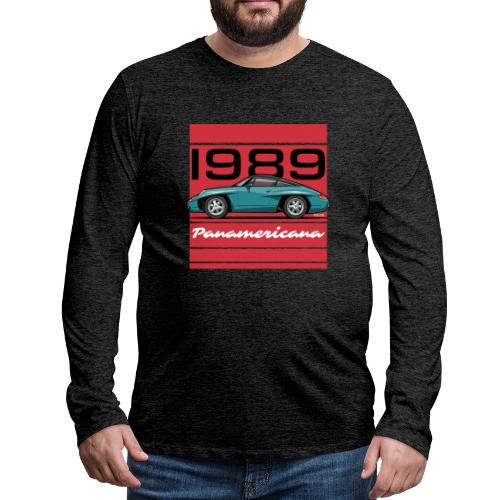 1989 P0r5che Panamericana Concept Car - Men's Premium Long Sleeve T-Shirt