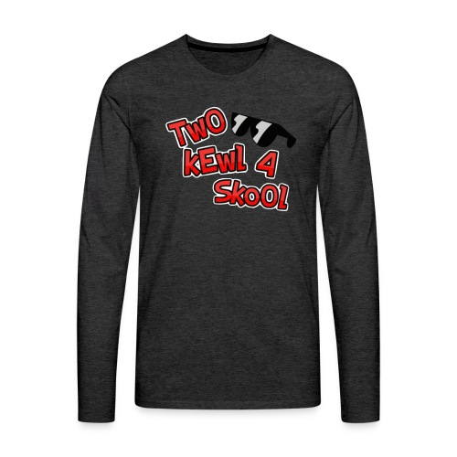 FotorCreated-bell - Men's Premium Long Sleeve T-Shirt