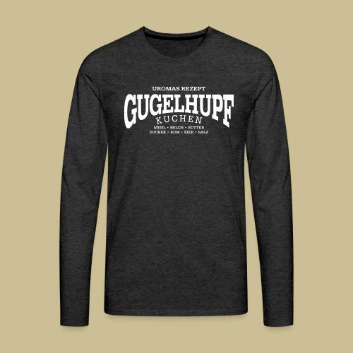 Gugelhupf (white) - Men's Premium Long Sleeve T-Shirt