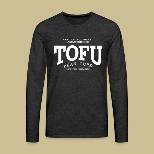 Tofu (white) - Men's Premium Long Sleeve T-Shirt