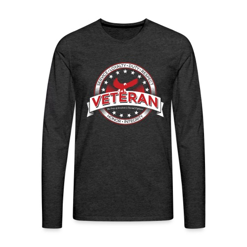 Veteran Soldier Military - Men's Premium Long Sleeve T-Shirt