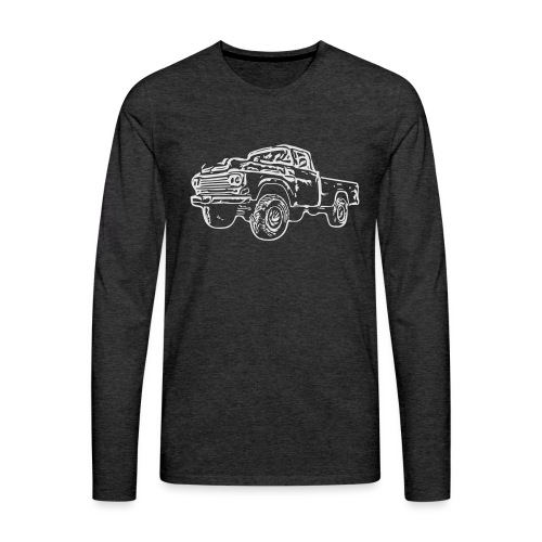 gnarlyTruck - Men's Premium Long Sleeve T-Shirt