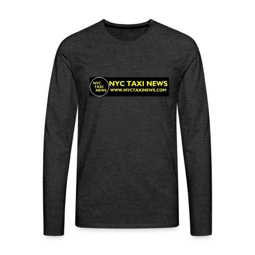 NYC TAXI NEWS - Men's Premium Long Sleeve T-Shirt