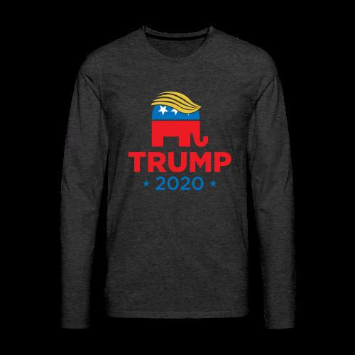 Trump 2020 - Men's Premium Long Sleeve T-Shirt
