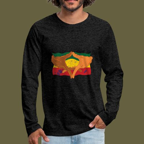 Hands of His Imperial Majesty - Men's Premium Long Sleeve T-Shirt