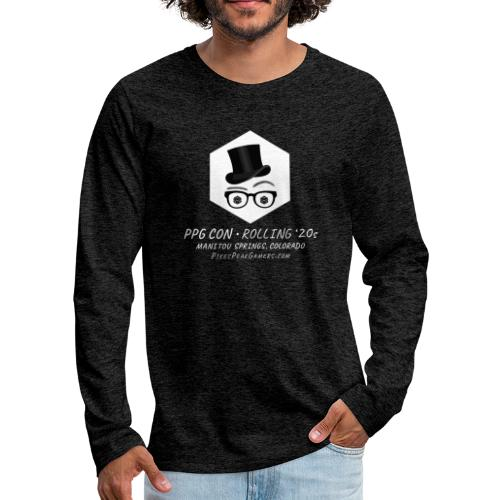 Pikes Peak Gamers Convention 2020 - Men's Premium Long Sleeve T-Shirt