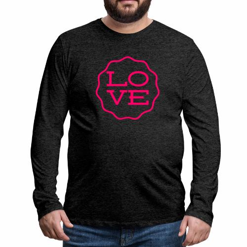 love design - Men's Premium Long Sleeve T-Shirt