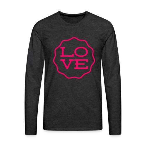love design - Men's Premium Long Sleeve T-Shirt