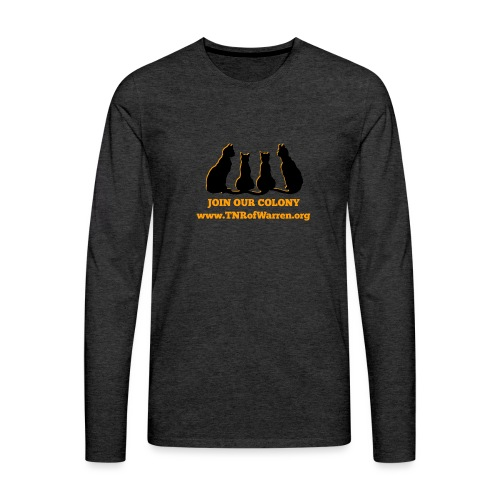 TNR JOIN OUR COLONY - Men's Premium Long Sleeve T-Shirt