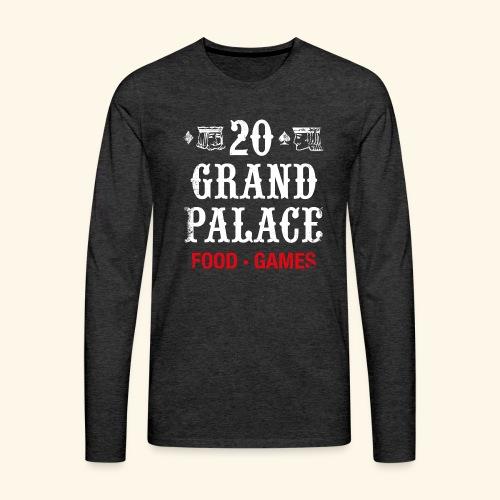 20 Grand Palace (neg.) - Men's Premium Long Sleeve T-Shirt
