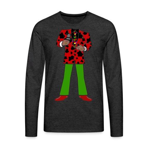 The Red Cow Suit - Men's Premium Long Sleeve T-Shirt