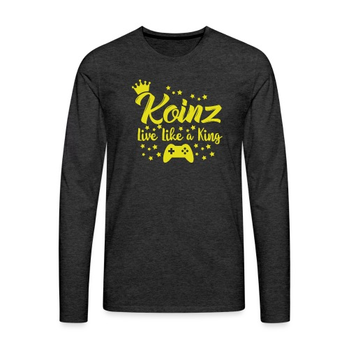 Live Like A King - Men's Premium Long Sleeve T-Shirt