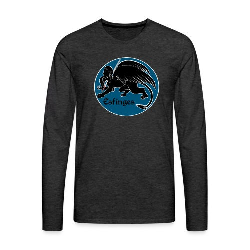 Esfinges Logo - Men's Premium Long Sleeve T-Shirt