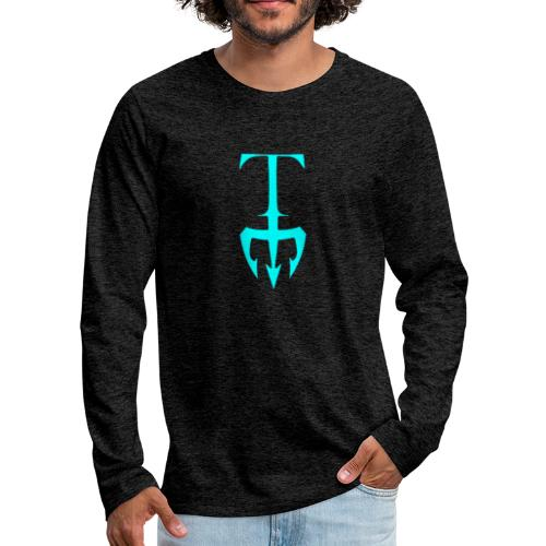 Titan Athletes Logo - Men's Premium Long Sleeve T-Shirt