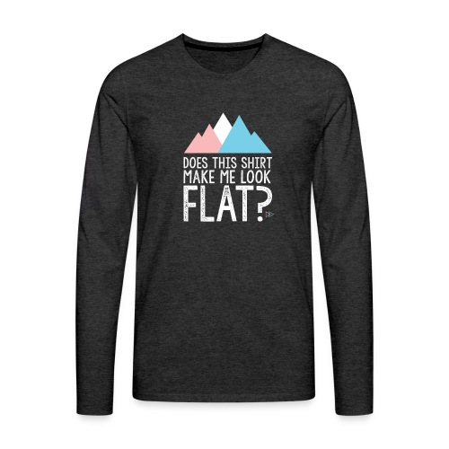 FLAT - Men's Premium Long Sleeve T-Shirt