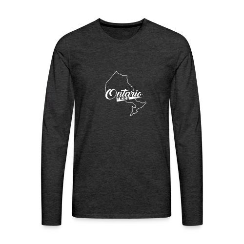 Ontario Tees Logo - Men's Premium Long Sleeve T-Shirt