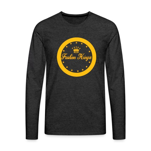 Fashion Kingz circle - Men's Premium Long Sleeve T-Shirt