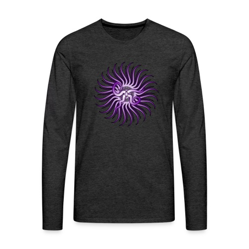 The Lord in Violet - Men's Premium Long Sleeve T-Shirt