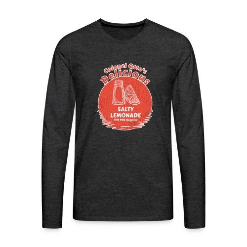 Salty Lemonade Vintage Red - Men's Premium Long Sleeve T-Shirt