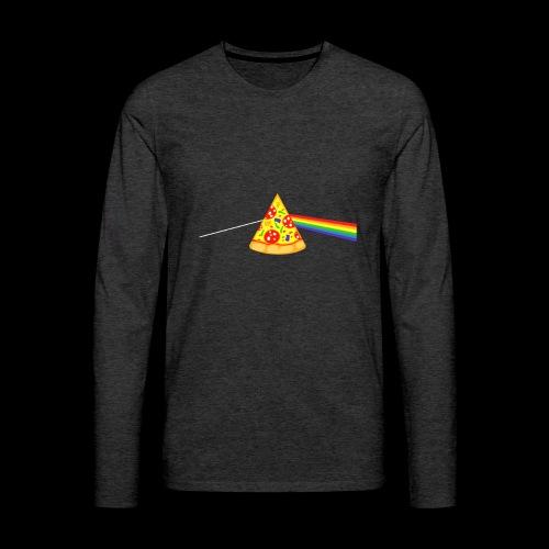 Pizza Prism - Men's Premium Long Sleeve T-Shirt
