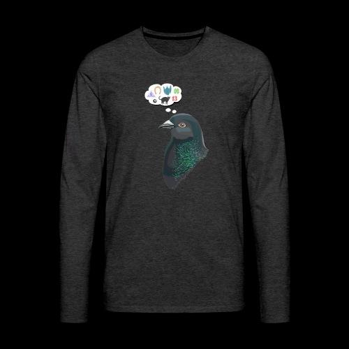 Skinner's Pigeon - Men's Premium Long Sleeve T-Shirt