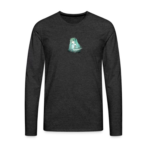 Summrrz Logo Transparent - Men's Premium Long Sleeve T-Shirt