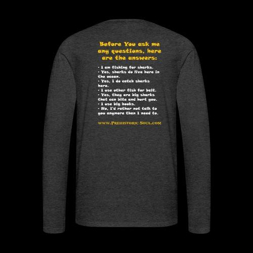 Surf Shark T-Shirts - Men's Premium Long Sleeve T-Shirt
