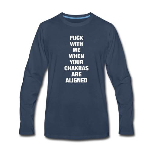 Chakras Aligned - Men's Premium Long Sleeve T-Shirt