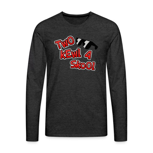 FotorCreated-bell - Men's Premium Long Sleeve T-Shirt