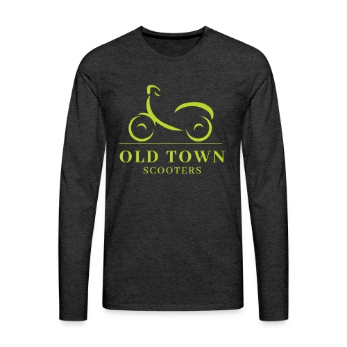 Old Town Scooters T-shirt - Men's Premium Long Sleeve T-Shirt