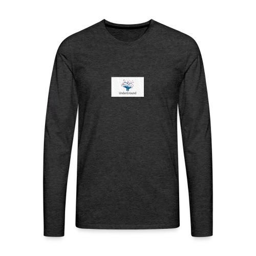 Charity Logo - Men's Premium Long Sleeve T-Shirt