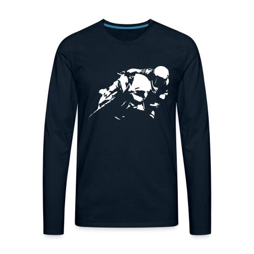 Sportbike Racing Motorcycle - Men's Premium Long Sleeve T-Shirt