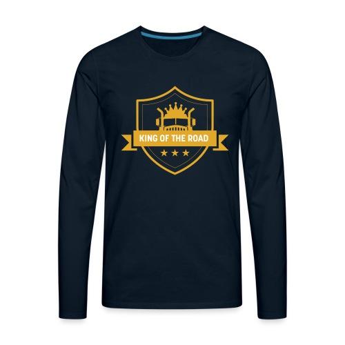 King of the Road - Men's Premium Long Sleeve T-Shirt