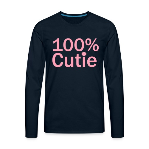 100cutie - Men's Premium Long Sleeve T-Shirt