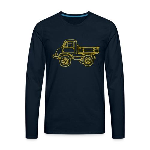 Off-road truck, transporter - Men's Premium Long Sleeve T-Shirt
