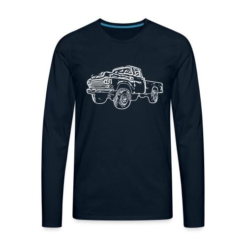 gnarlyTruck - Men's Premium Long Sleeve T-Shirt