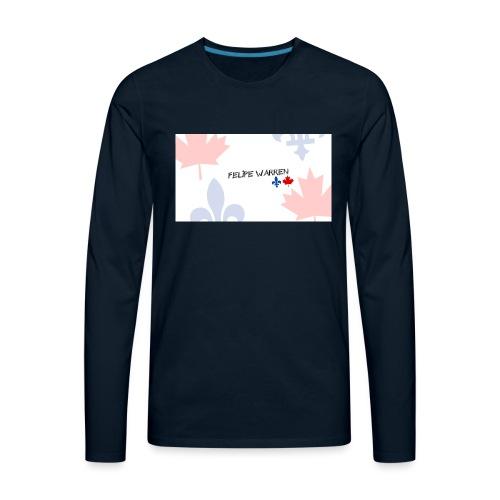 Logo do Canal - Men's Premium Long Sleeve T-Shirt